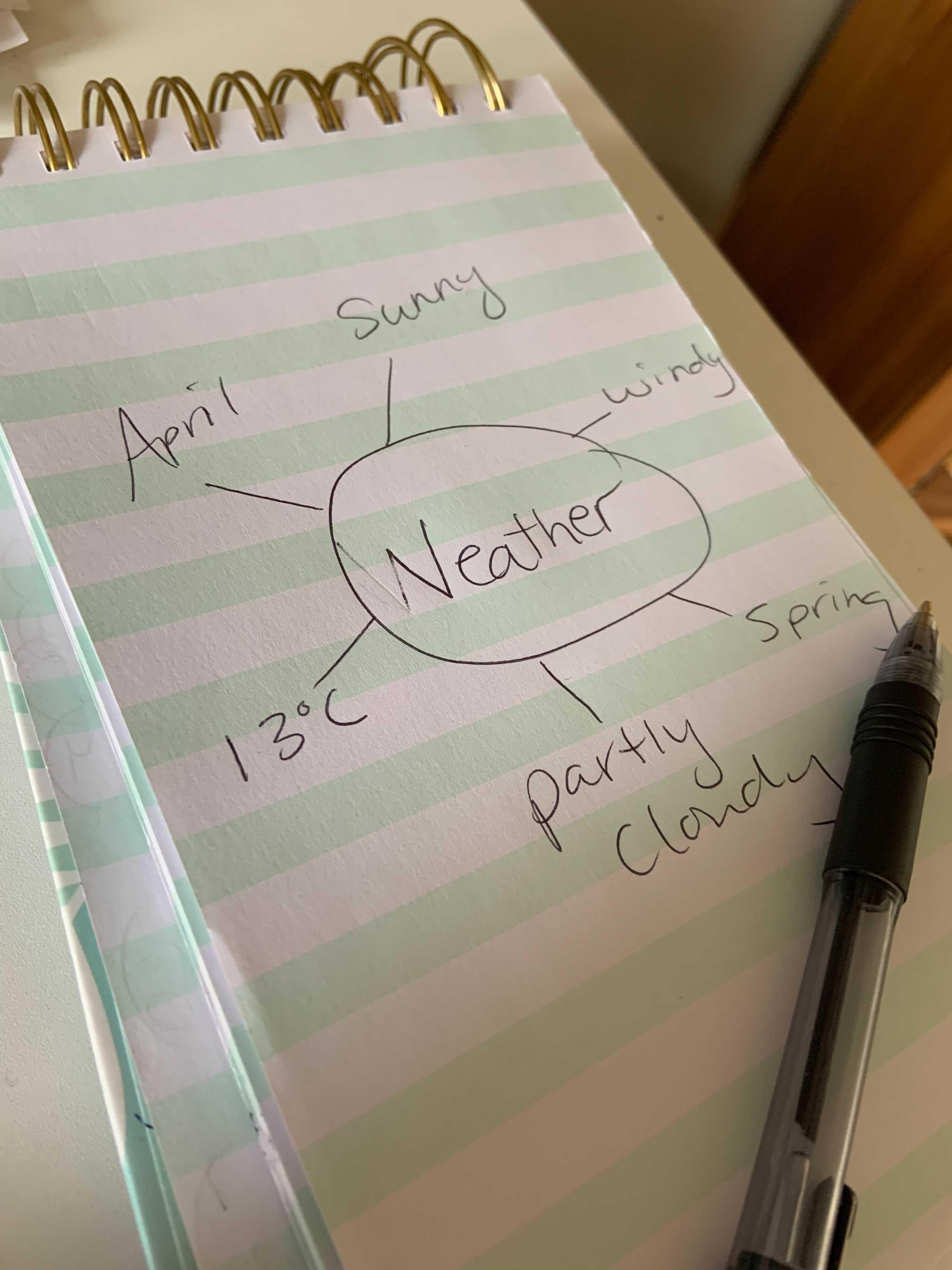 speaking plan example