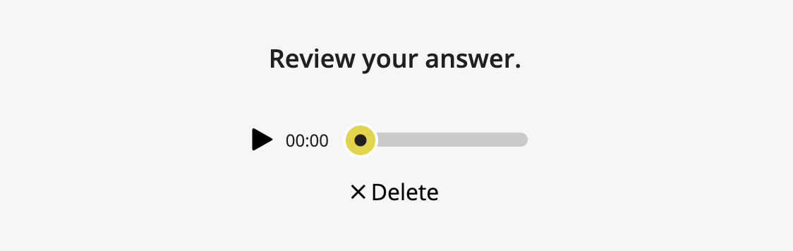 Review Answer