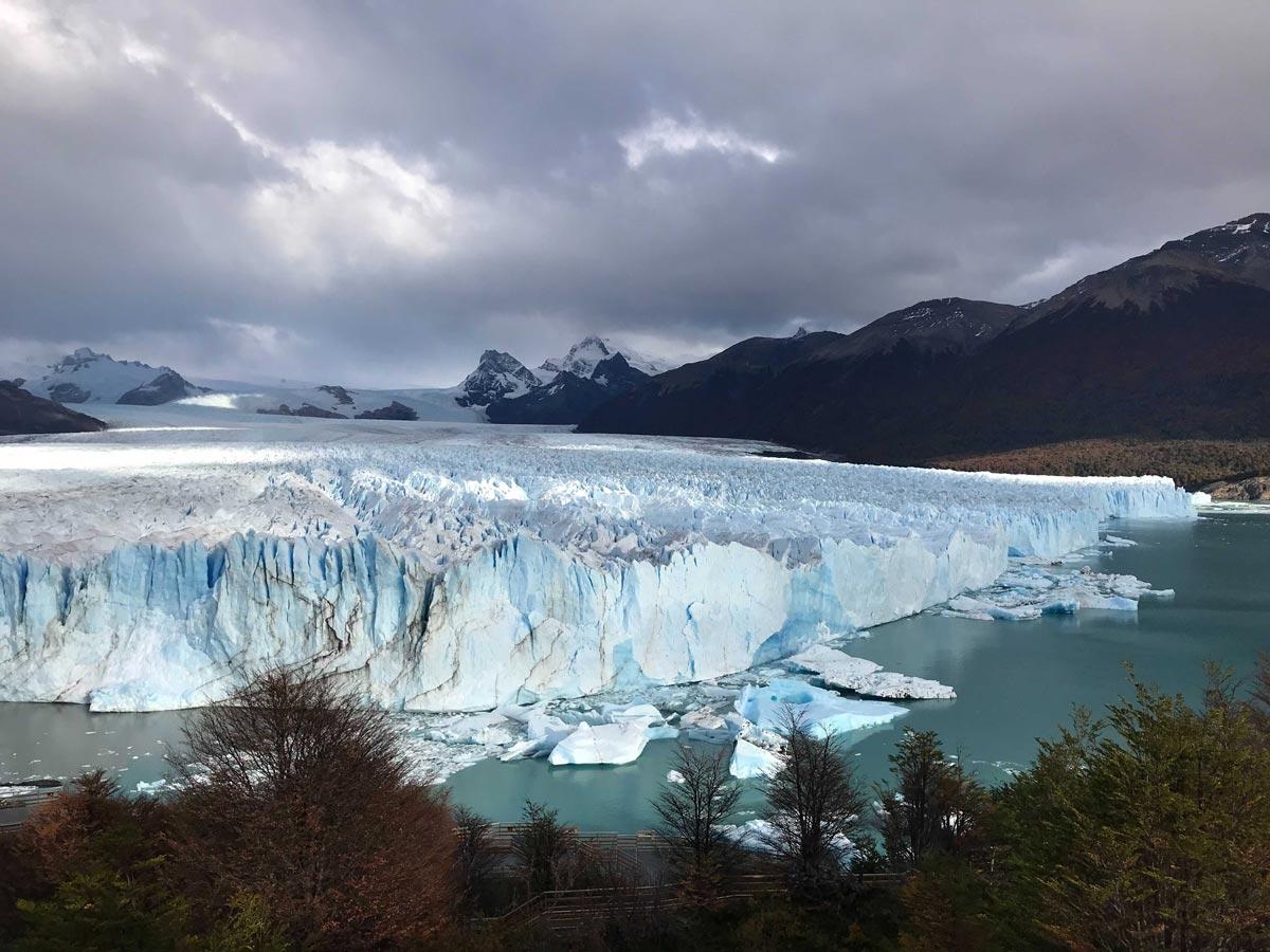 View of the Perito Moreno Glacier