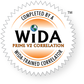 WIDA PRIME V2 Correlation Seal