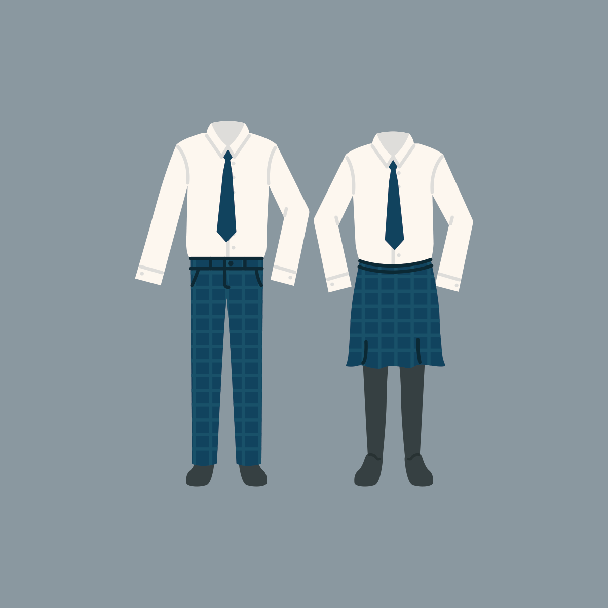 72 school uniforms
