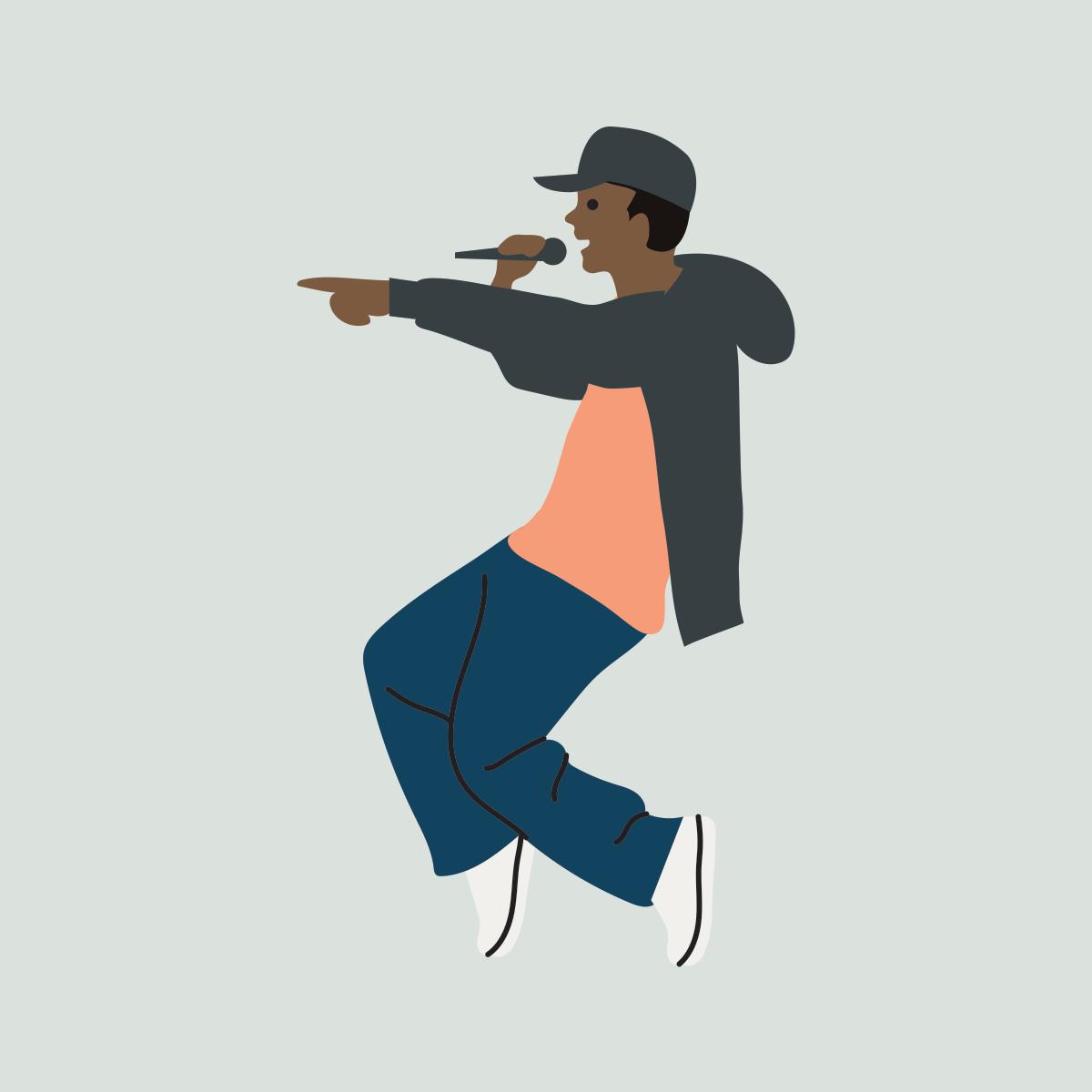 82 hip hop and rap