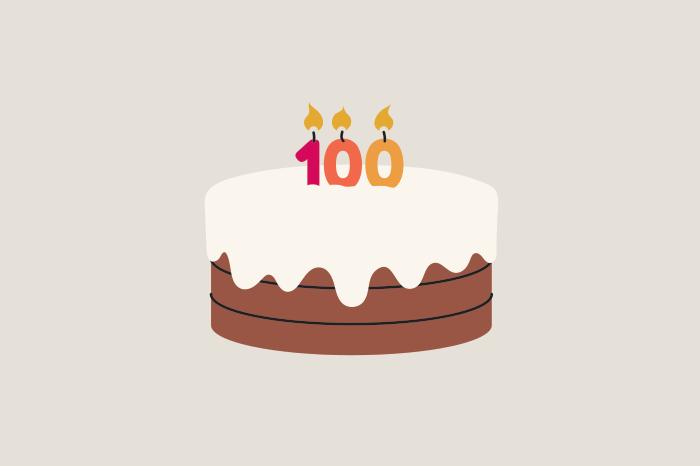 95 centenarians