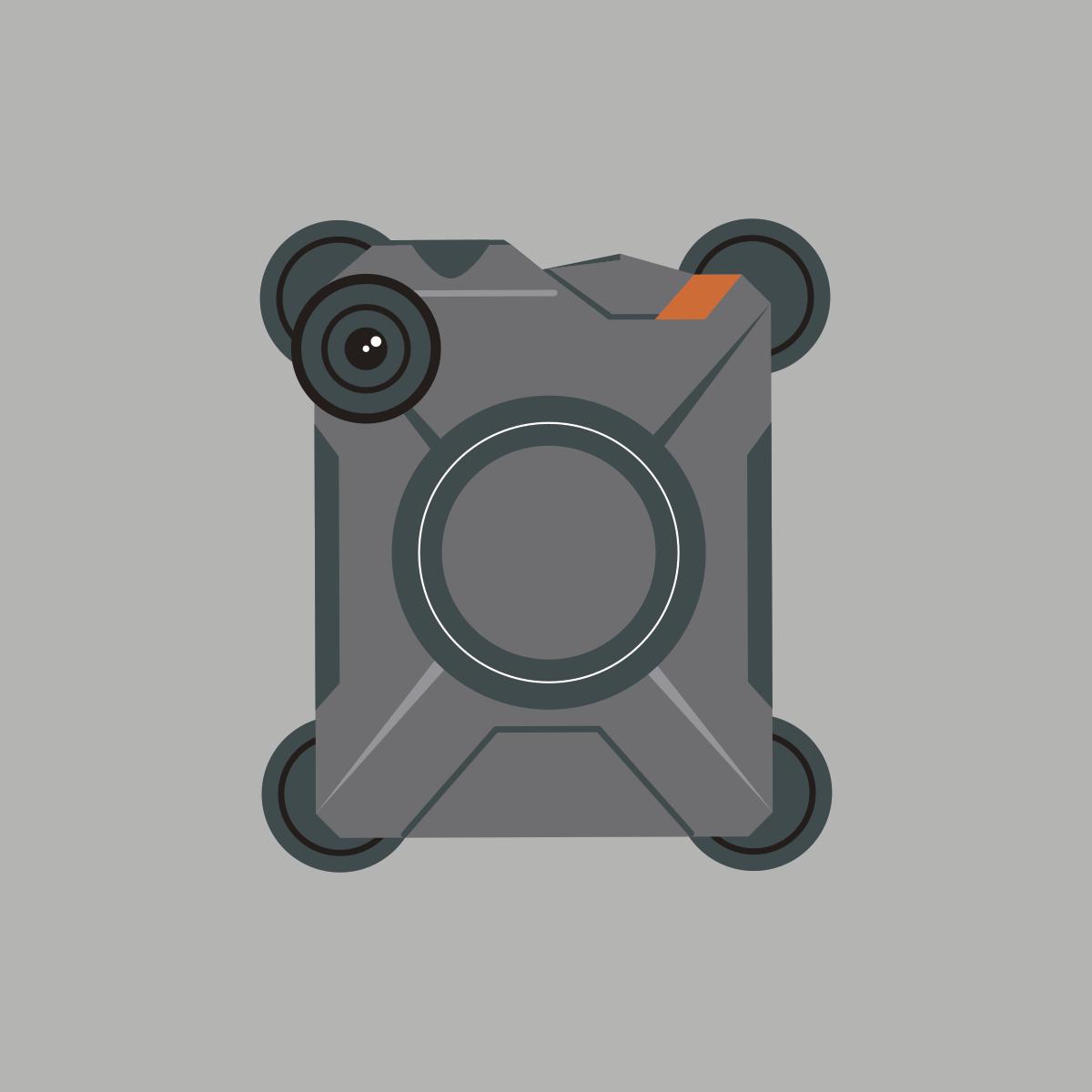 72 police body cameras