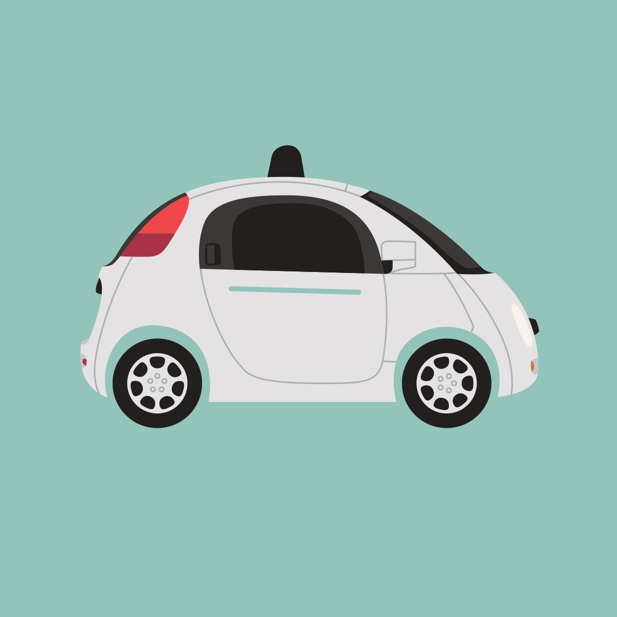72 driverless cars