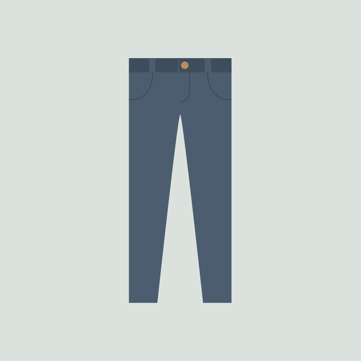 82 blue jeans