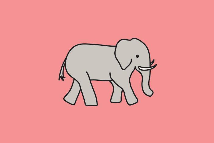 117 elephants