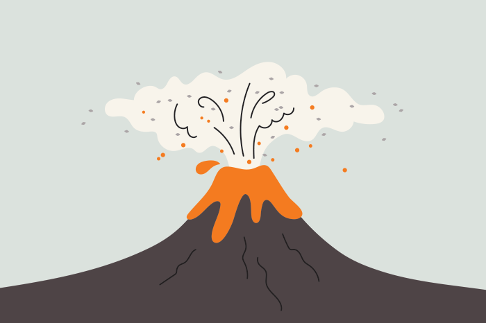 82 volcanoes