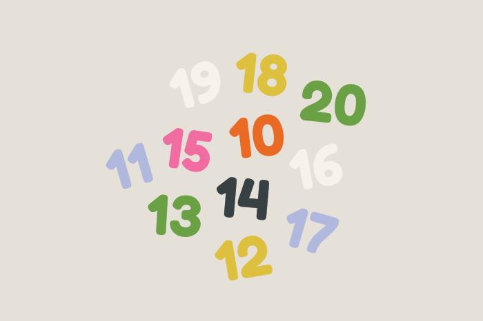 Ef numbers 10 20