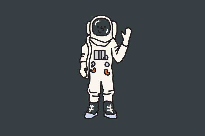 117 astronauts