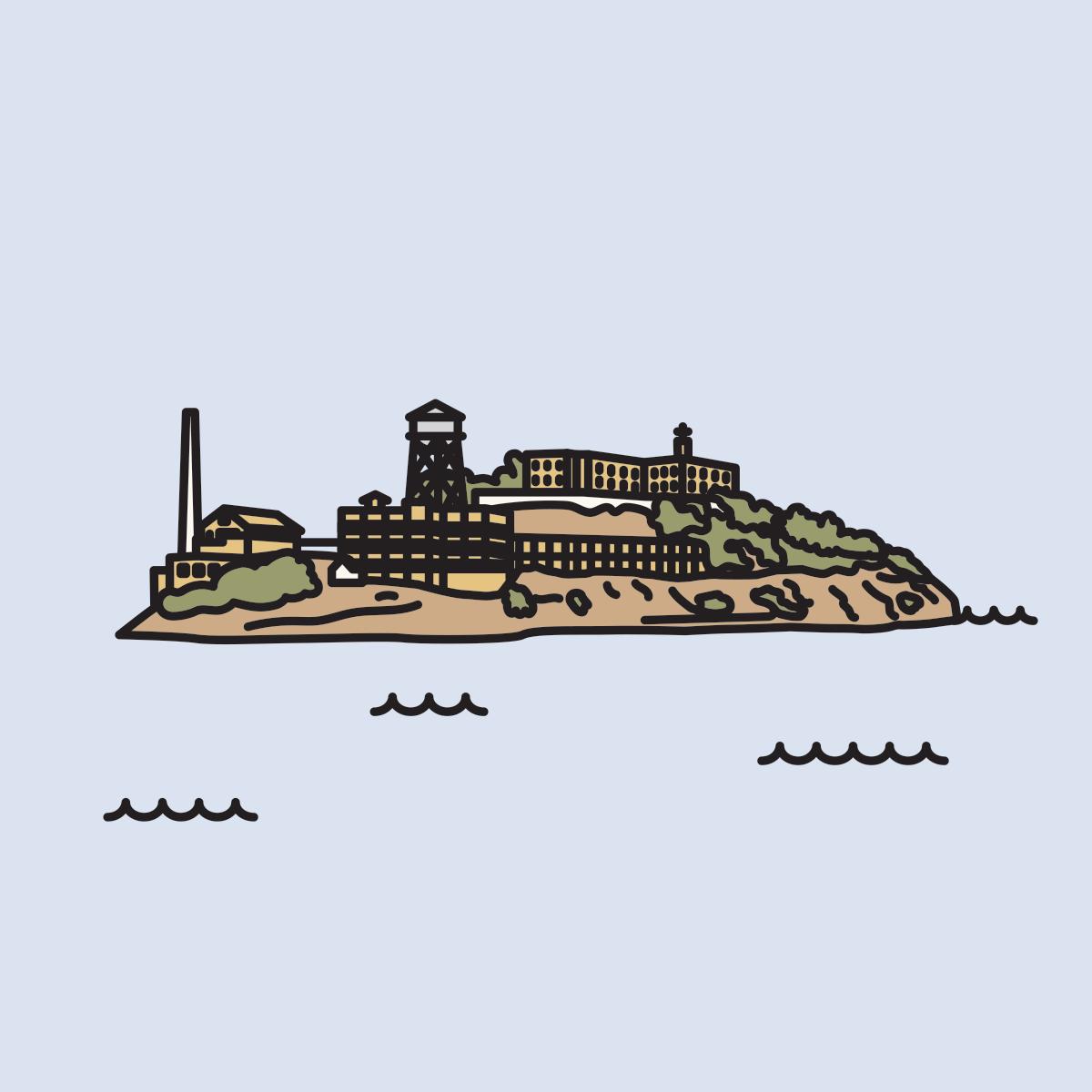117 alcatraz island