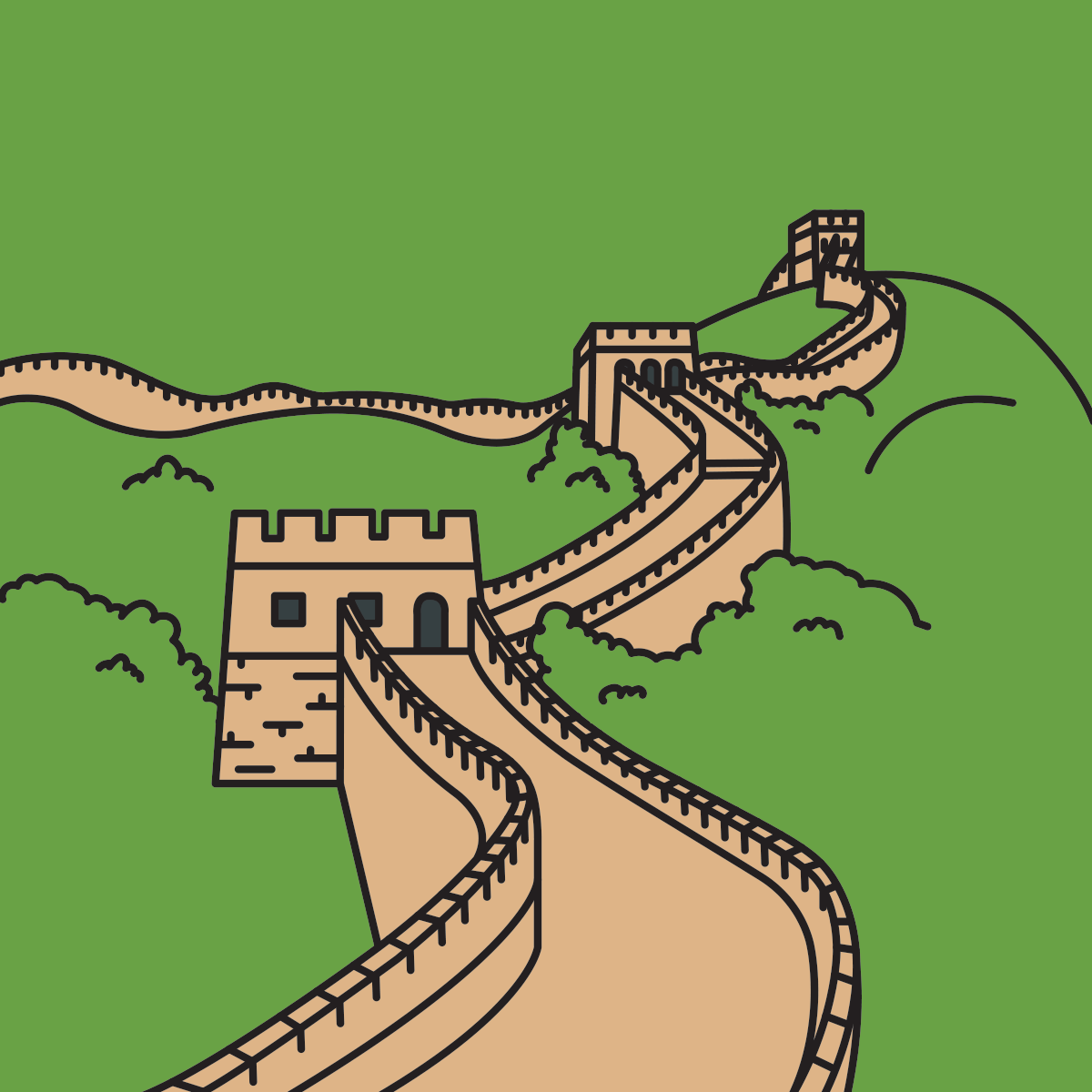 117 great wall of china