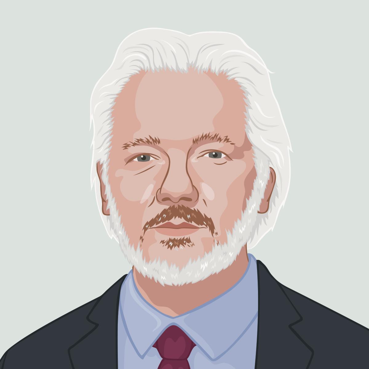 80 julian assange